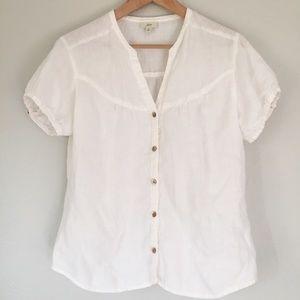 J. Jill | 100% linen blouse